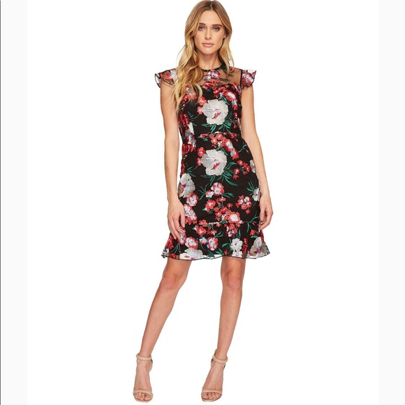 Donna Morgan Dresses & Skirts - 🌟 NWT Donna Morgan Floral Embroidered Dress